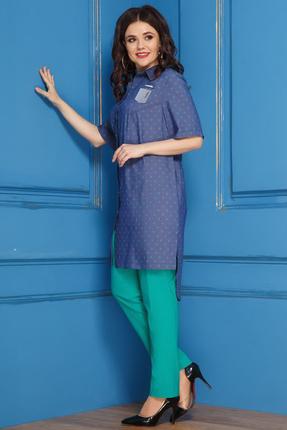 Комплект брючный Anastasia 276 синий