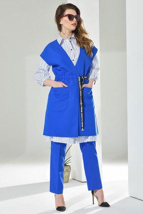 Комплект брючный Anna Majewska 216 синий