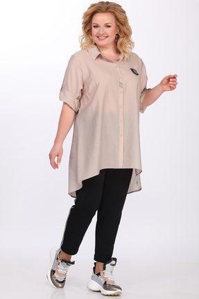 Купить со скидкой Рубашка Lady Secret 094 капучино