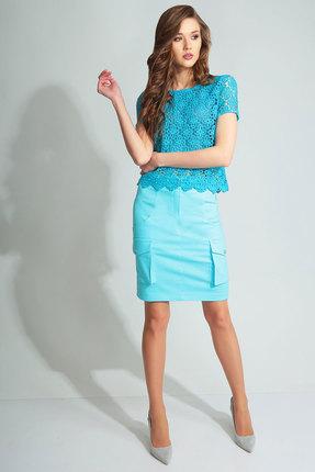 Комплект юбочный Axxa 26105 бирюза