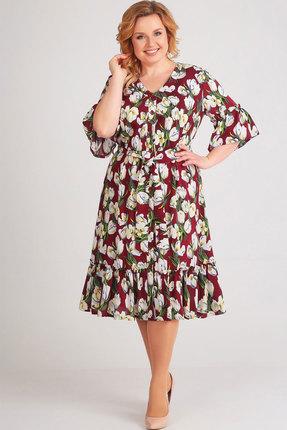 женское повседневные платье асолия, разноцветное