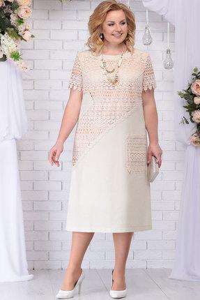 Платье Ninele 5710 бежевый