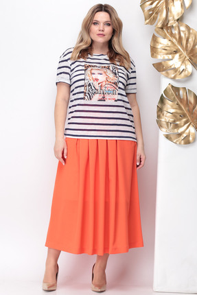 Комплект юбочный Michel Chic 599 оранжевый