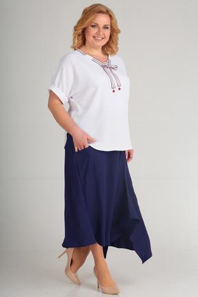 Комплект юбочный Диамант 1431 синий