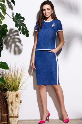 Комплект юбочный Lissana 3135 синий