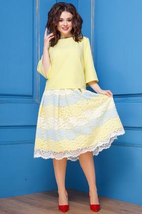 Комплект юбочный Anastasia 282 желтый