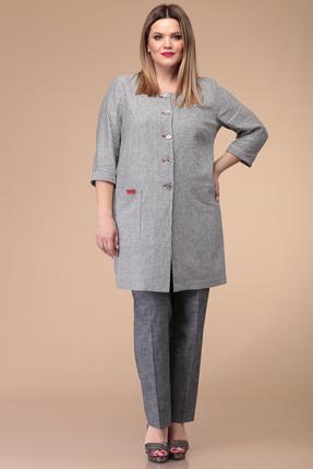 Комплект брючный Verita Moda 1184 серый
