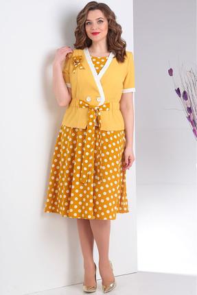 Комплект плательный Milana 120 желтый