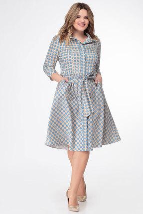 Платье Дали 5348 голубой