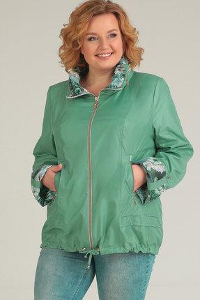 Куртка TricoTex Style 1547 зелено-синие тона TricoTex Style