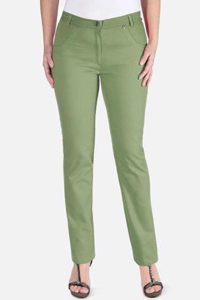 женские брюки mirolia, оливковые