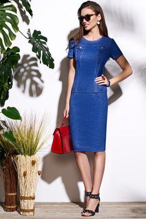 Комплект юбочный Lissana 3642 синий