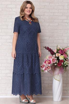 Платье Aira Style 677 синий