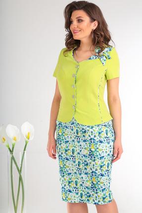 Комплект юбочный Мода-Юрс 2026 салатовый