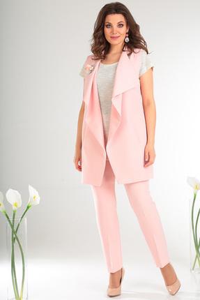Комплект брючный Мода-Юрс 2331 нежно-розовый