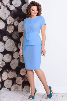 Комплект юбочный Мублиз 350 голубой
