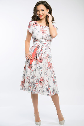 Фото - Платье Teffi style 721.2 амарантовый цвет амарантовый