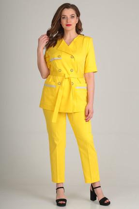 Комплект брючный Anastasia Mak 604 желтый