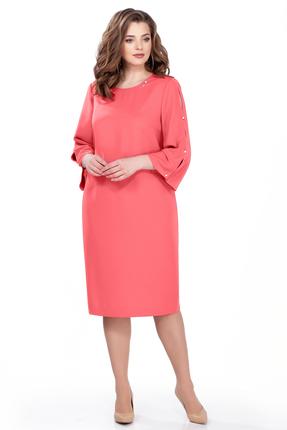 Фото - Платье TEZA 161 коралловый кораллового цвета