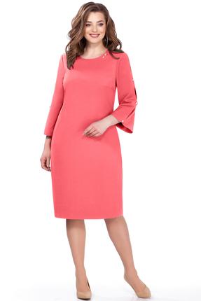 Фото 2 - Платье TEZA 161 коралловый кораллового цвета