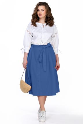 Фото - Комплект юбочный TEZA 163 синий синего цвета