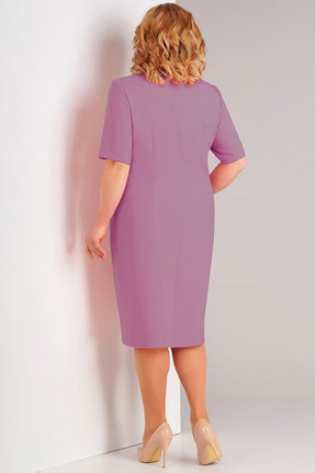 Фото 2 - Платье Милора-Стиль 713 сирень цвет сирень