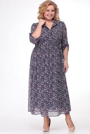 Фото - Платье KetisBel 1421 фиолетовый с синим цвет фиолетовый с синим