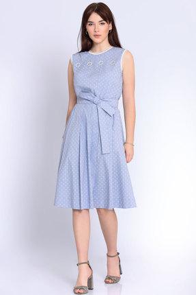 Фото - Платье Джерси 1796 голубой голубого цвета