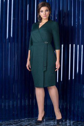 Фото - Платье Elady 3031 изумрудный цвет изумрудный