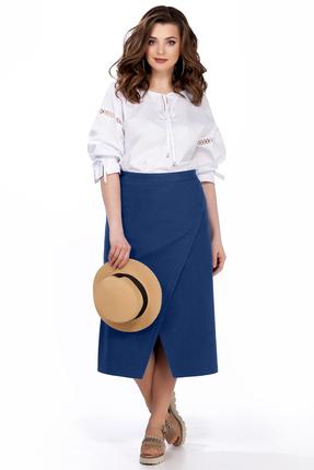 Фото - Комплект юбочный TEZA 166 синий синего цвета