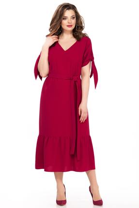Фото - Платье TEZA 176 красные тона цвет красные тона