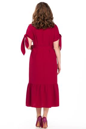 Фото 2 - Платье TEZA 176 красные тона цвет красные тона