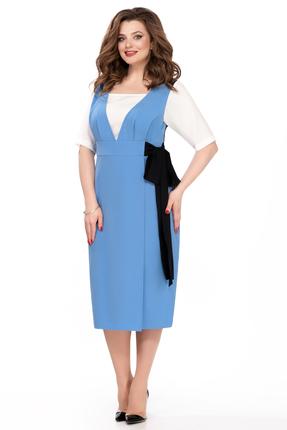 Фото - Платье TEZA 179 светло синий цвет светло синий