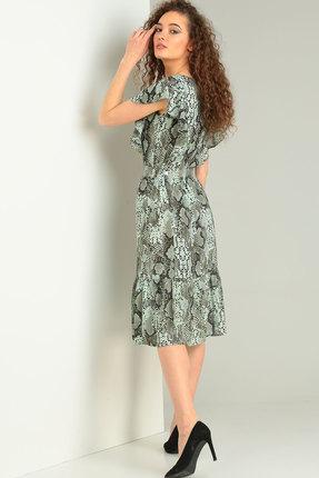 Фото 2 - Платье Ришелье 714 зелёный цвет зелёный