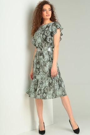 Фото 3 - Платье Ришелье 714 зелёный цвет зелёный