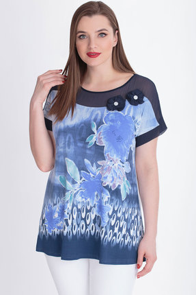 Туника БелЭкспози 570 голубой