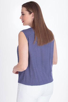 Фото 2 - Блузку БелЭкспози 580 фиолетовый фиолетового цвета