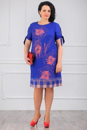 Фото - Платье Мадам Рита 5014 василек цвет василек