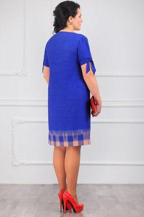 Фото 2 - Платье Мадам Рита 5014 василек цвет василек