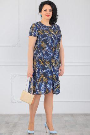 Фото - Платье Мадам Рита 5017 синий синего цвета