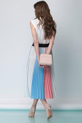 Фото 3 - Юбку Anna Majewska 1159с цветной разноцветного цвета