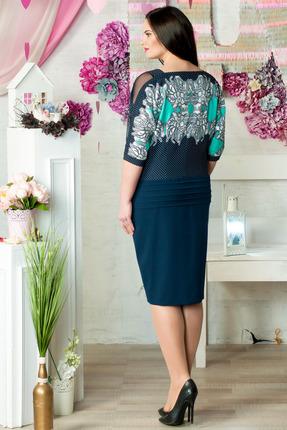 Фото 3 - Платье Moda-Versal 1595 синий синего цвета