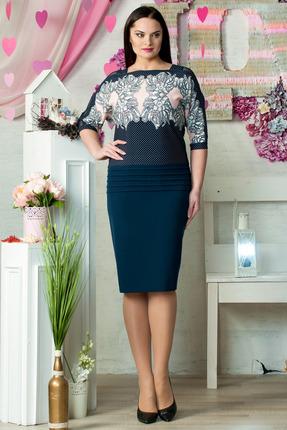 Фото - Платье Moda-Versal 1595 синий синего цвета