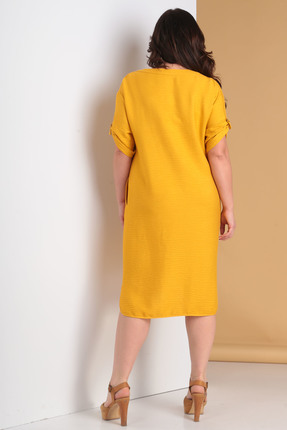 Фото 2 - Платье Moda-Versal 2034 желтый желтого цвета