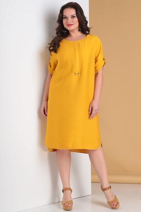 Фото - Платье Moda-Versal 2034 желтый желтого цвета