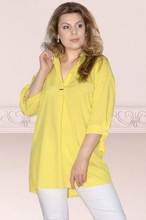 Фото - Блузку Needle Ревертекс 398/11 желтый желтого цвета