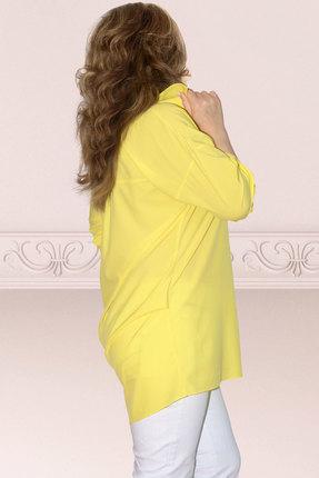 Фото 2 - Блузку Needle Ревертекс 398/11 желтый желтого цвета