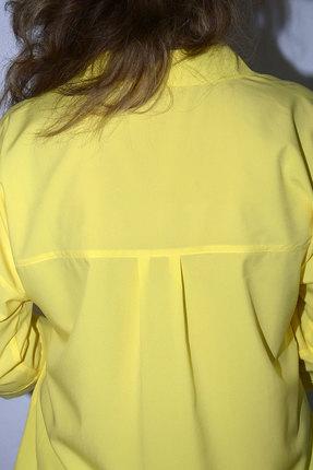 Фото 3 - Блузку Needle Ревертекс 398/11 желтый желтого цвета