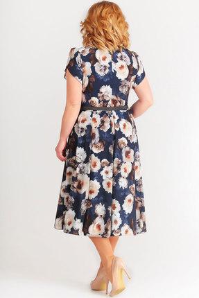 Фото 3 - Платье SWALLOW 169 синий синего цвета