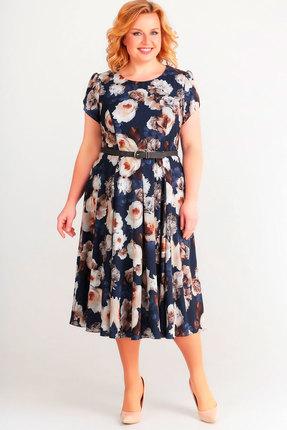 Фото - Платье SWALLOW 169 синий синего цвета